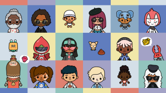 Toca Life: Office - Characters