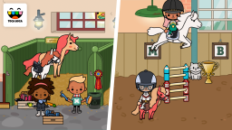 Toca Life: Stable - The stable