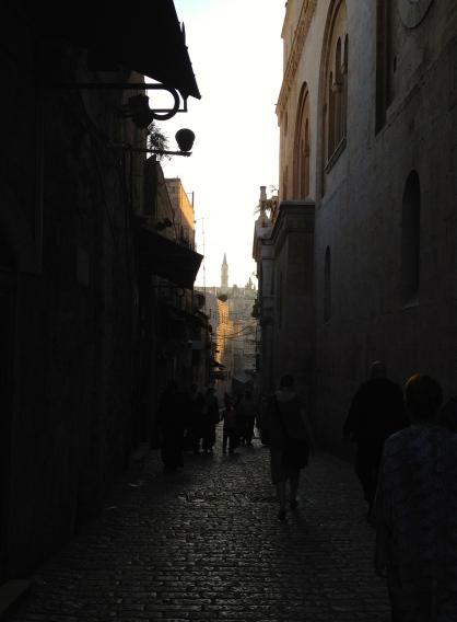 The old town of Jerusalem