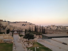 Next to the southern wall of the temple mount