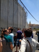 The barrier around Jerusalem