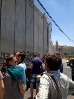 The barrier around Jerusalem