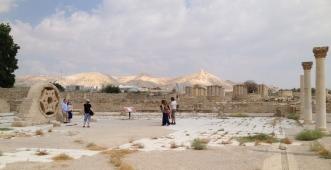 The site of Hisham's Palace