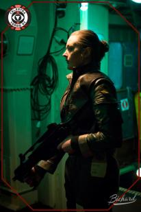 Galactica Viper pilot. Photo: John-Paul Bichard (CC-NC-ND)