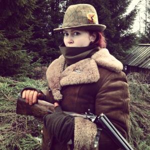 The hunter Bratt. Portrait. Photo: Petter Karlsson