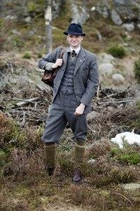The historian, Dr Wahlund. Portrait. Photo: Johannes Axner