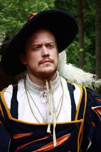Oberst Manfredd Hochstadt von Schmetterling, commander of the regiment Schmetterling. Portrait. Photo: Eva Wei