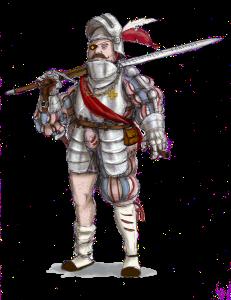 Hauptman of The Guild. Illustration: Peter Edgar
