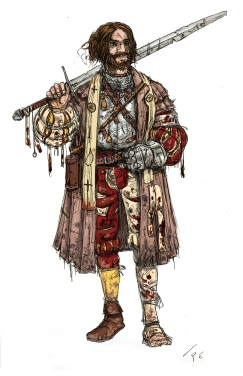 Priest of The Guild. Illustration: Peter Edgar