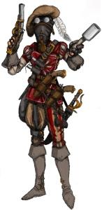 Storm knecht of the Guild. Illustration: Peter Edgar