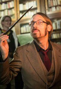 Professor Dragomir. Ingame. Photo: Christina Molbech