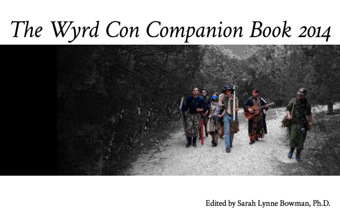 Cover of The Wyrd Con Companion Book 2014