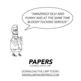 Papers - Larpscript Promo