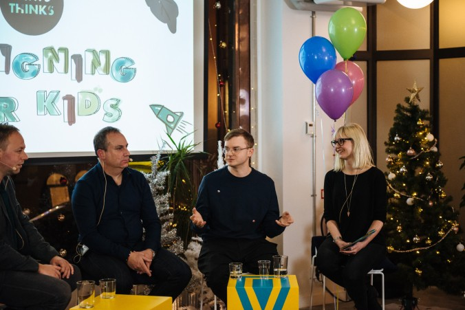 Panel Designing for Kids ustwoTHINKS